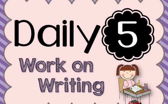 Daily 5- Work on Writing {lots