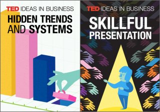 TED Ideas running a business tend to be playlists that bring together talks interesting to expert viewers. Here, the art for