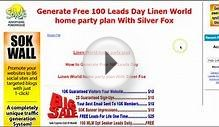 Linen World Leads | home party plan business Leads
