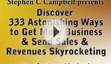 Sales And Marketing Work From Home Business Strategies